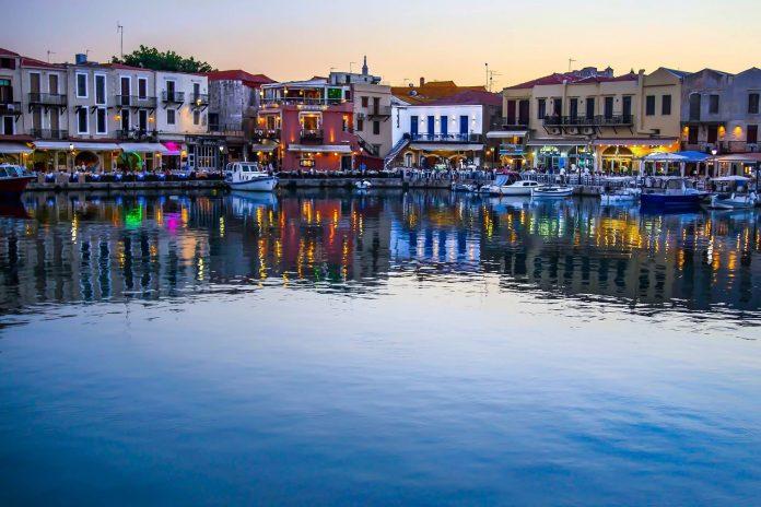 Rethymno Port Rethymno Crete