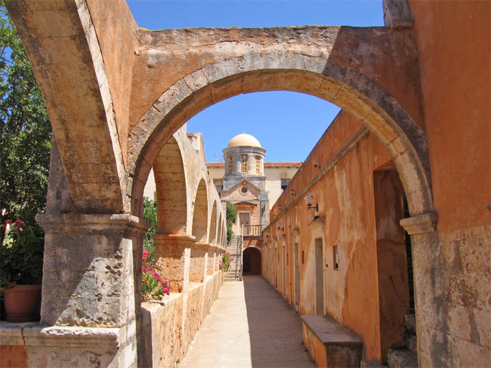 Agia Triada monastery bell-tower