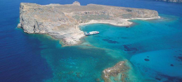 Balos Beach Chania and Gramvousa Castle