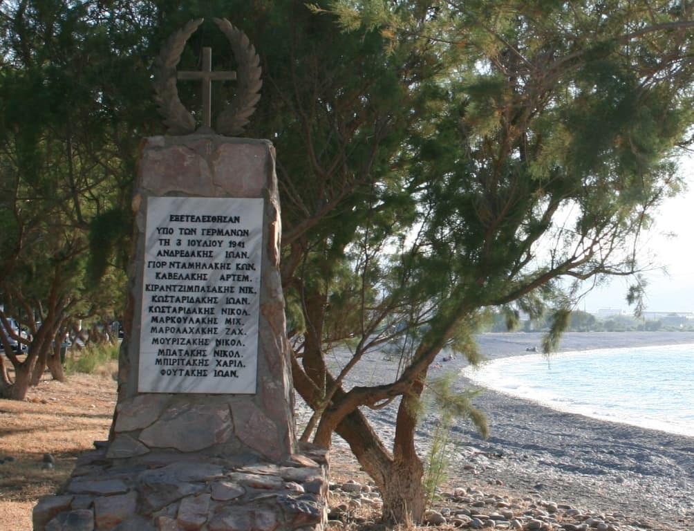 Tavronitis WW2 monument