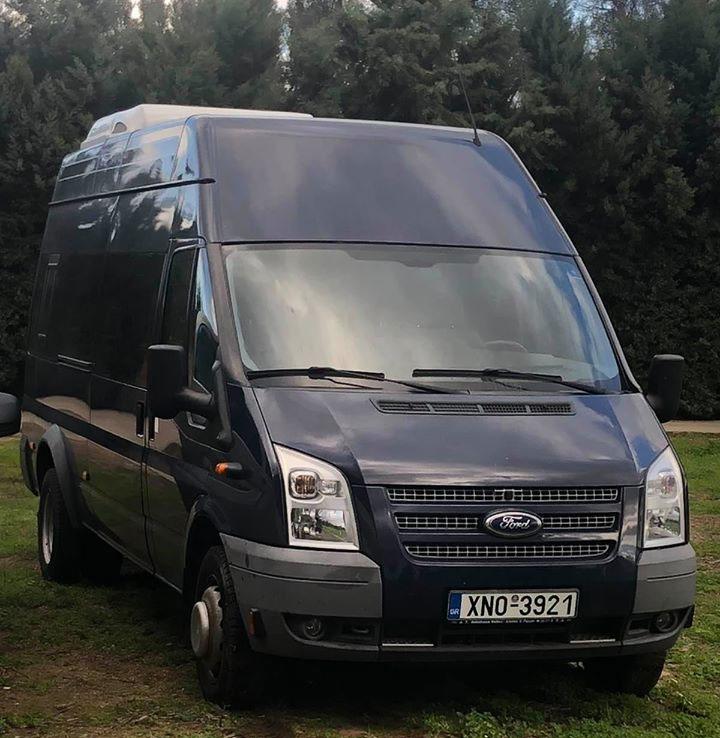 Platanias Taxi Minibus - Van
